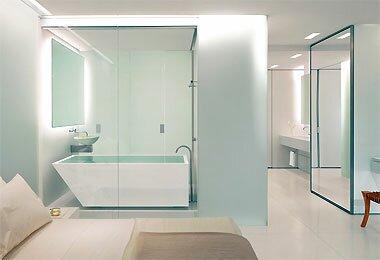 Khái niệm thế nào là vách tắm kính cường?